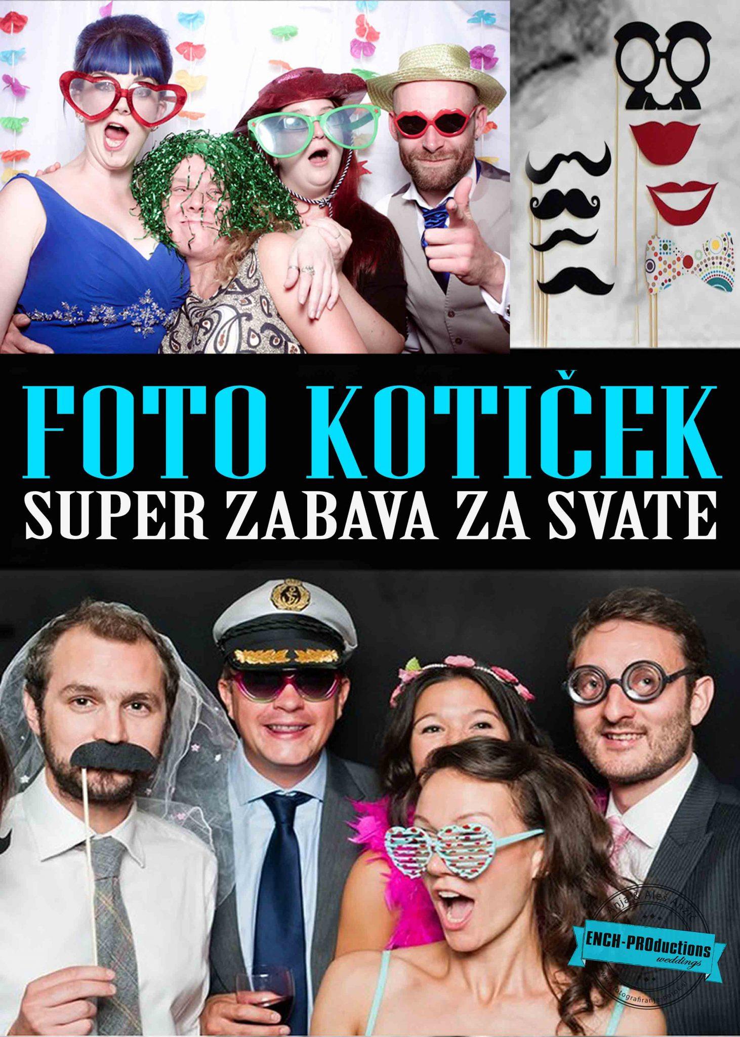 Fotokotiček na zabavi