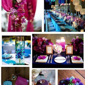 Pavje roza poročni trendi enchpro (2)
