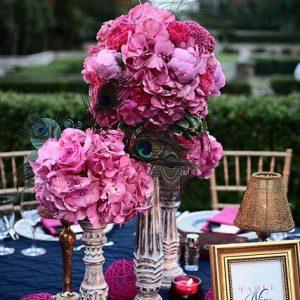 Pavje roza poročni trendi enchpro (4)